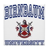 BIRNBAUM University Tile Coaster