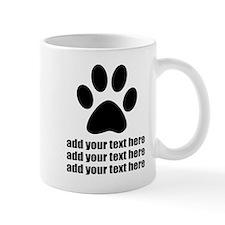 Dog's paw Mug