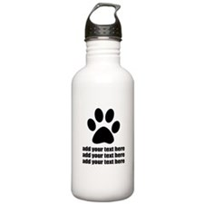 Dog's paw Water Bottle