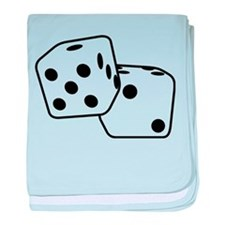 Roll the Dice baby blanket
