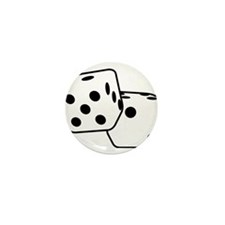 Roll the Dice Mini Button (100 pack)