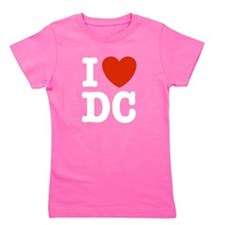 Cute I love dc Girl's Tee