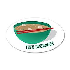 Tofu Goodness Wall Decal