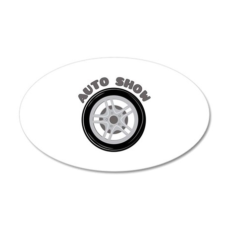 Auto Show Wall Decal
