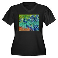 van gogh irises, st. remy Plus Size T-Shirt