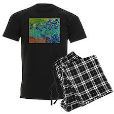 van gogh irises, st. remy Pajamas