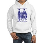 Meeting On the Level - Masonic Blue Hooded Sweats