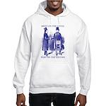 Meeting On the Level - Masonic Blue Hooded Sweats