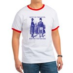 Meeting On the Level - Masonic Blue Ringer T