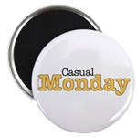 Casual Monday Yellow Magnet