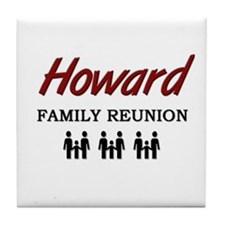 Howard Family Reunion Tile Coaster