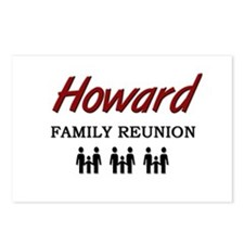 Howard Family Reunion Postcards (Package of 8)