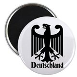 "Deutschland - Germany National Symbol 2.25"" Magnet"