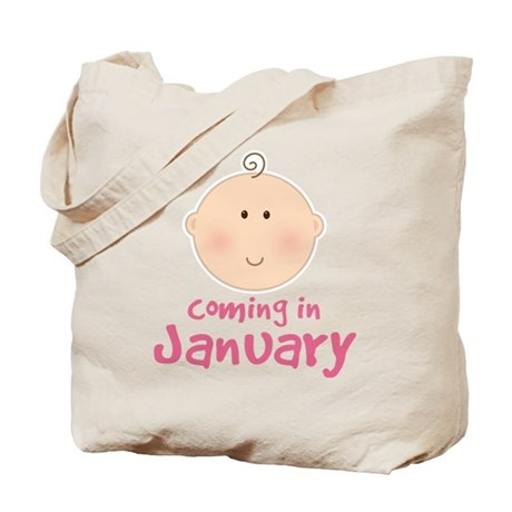 January Baby Tote Bag