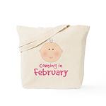 February Baby Tote Bag