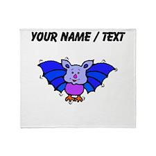 Custom Baby Bat Throw Blanket