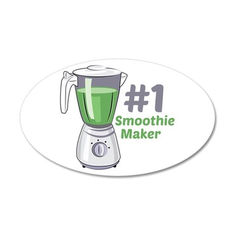 #1 Smoothie Maker Wall Decal