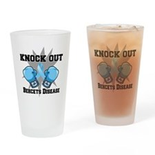 Knock Out Behcets Disease Drinking Glass