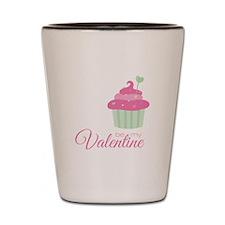 My Valentine Shot Glass