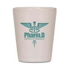 PharmD Shot Glass