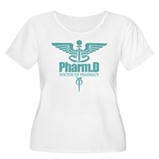 PharmD Plus Size T-Shirt