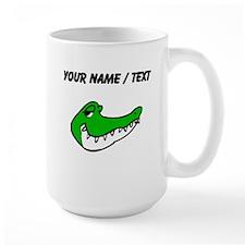Custom Alligator Face Mugs