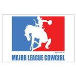 ML Cowgirl Large Poster