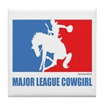 ML Cowgirl Tile Coaster
