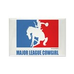 ML Cowgirl Rectangle Magnet (100 pack)