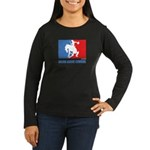 ML Cowgirl Women's Long Sleeve Dark T-Shirt