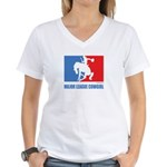 ML Cowgirl Women's V-Neck T-Shirt