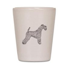 Kerry Blue Terrier Shot Glass