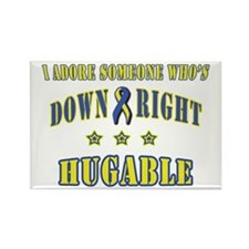 Down Right Hugable Rectangle Magnet (100 pack)