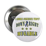 Down Right Hugable Button