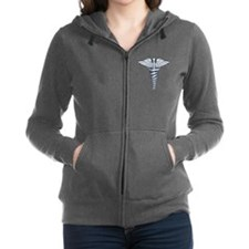 Medical Symbol Women's Zip Hoodie