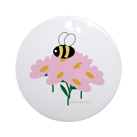 Twin A Bee Ornament (Round)