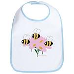Triplet Bees Bib
