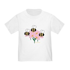 Triplet Bees Toddler T-Shirt
