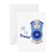 Chu Chu Train! Greeting Cards