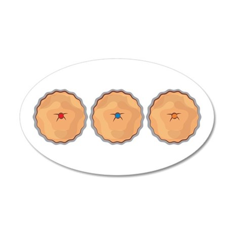 Fruit Pies Wall Decal