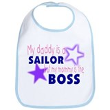 My Daddy is a Sailor but momm Bib