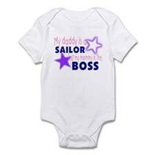 My Daddy is a Sailor but momm Infant Bodysuit