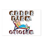 Carpe Diem Otiosam f Postcards (Package of 8)
