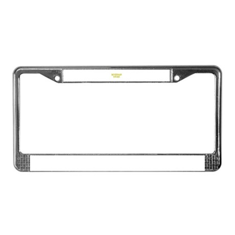 Michigan Sucks License Plate Frame