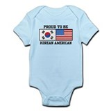 Korean American Infant Bodysuit