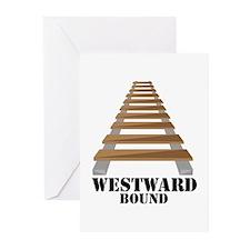 Westward Bound Greeting Cards