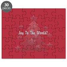 Custom Christmas Tree Holiday Season Gift Puzzle
