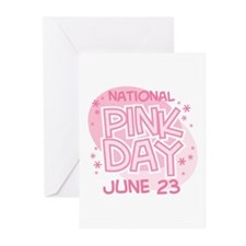 National Pink Day Greeting Cards (Pk of 10)