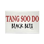 Tang Soo Do Black Belt 1 Rectangle Magnet (100 pac