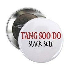 "Tang Soo Do Black Belt 1 2.25"" Button (10 pack)"